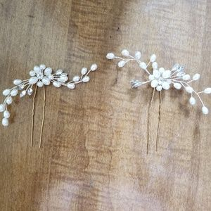 Bridal or Prom Hair Pins